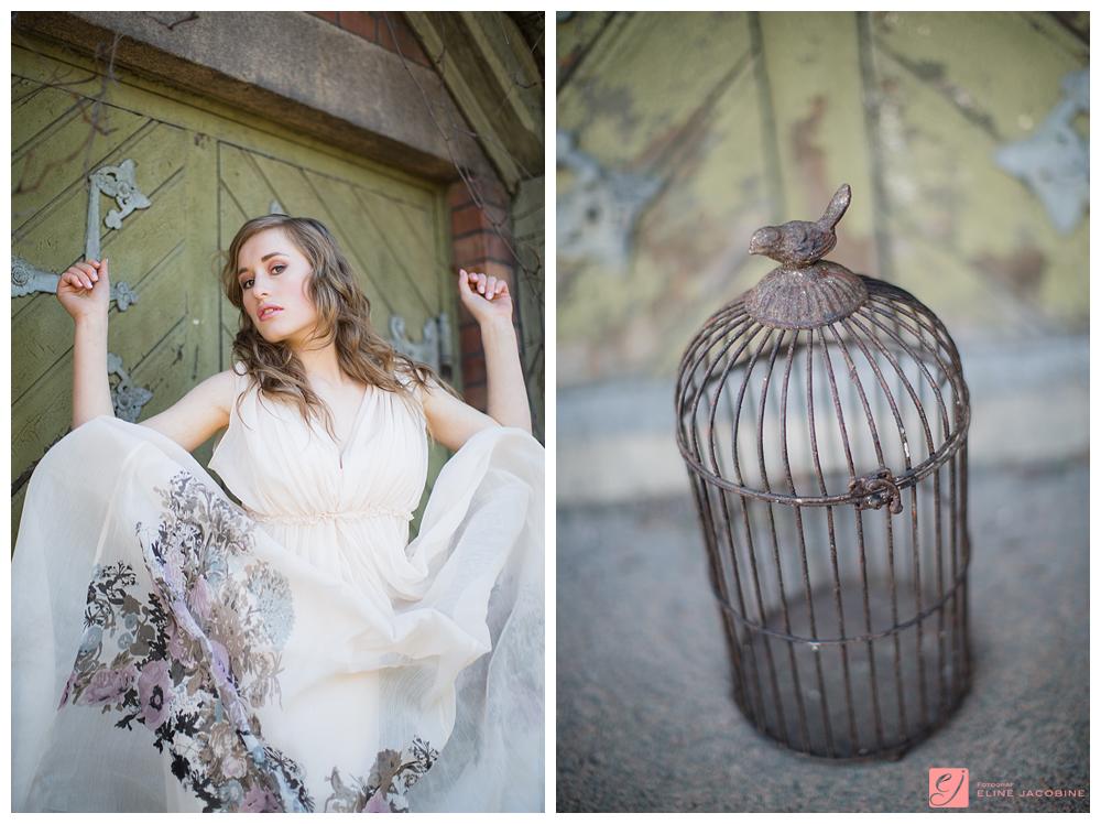 Caged Bird photoshoot