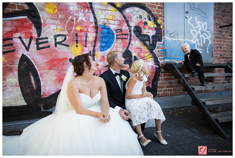 Bryllupsbilder grafitti
