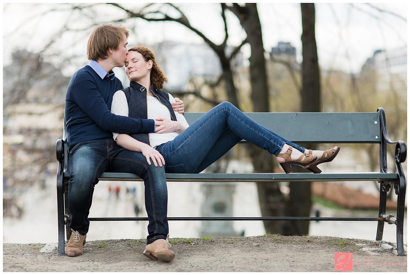 Kjærestebilder i urbane omgivelser