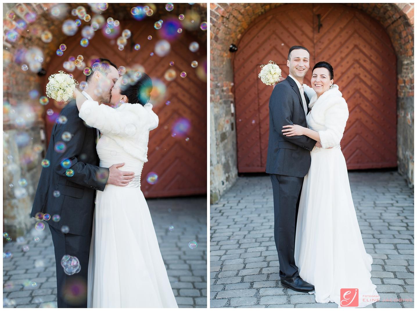 Akershus festning bryllupsbilder