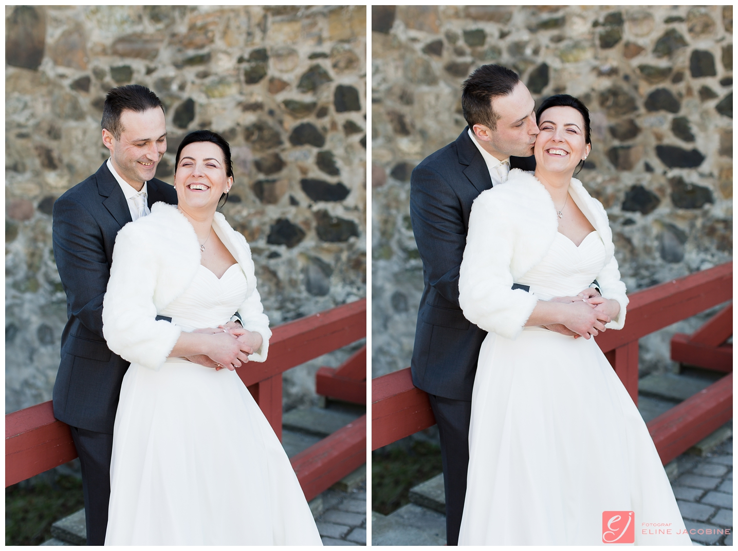 Bryllupsfotografering Akershus Festning