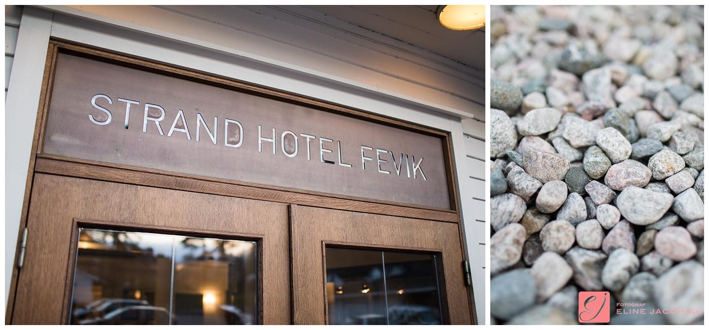 Strand Hotell Grimstad bryllup