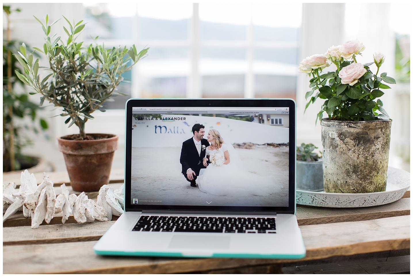 bildelevering av bryllupsbilder