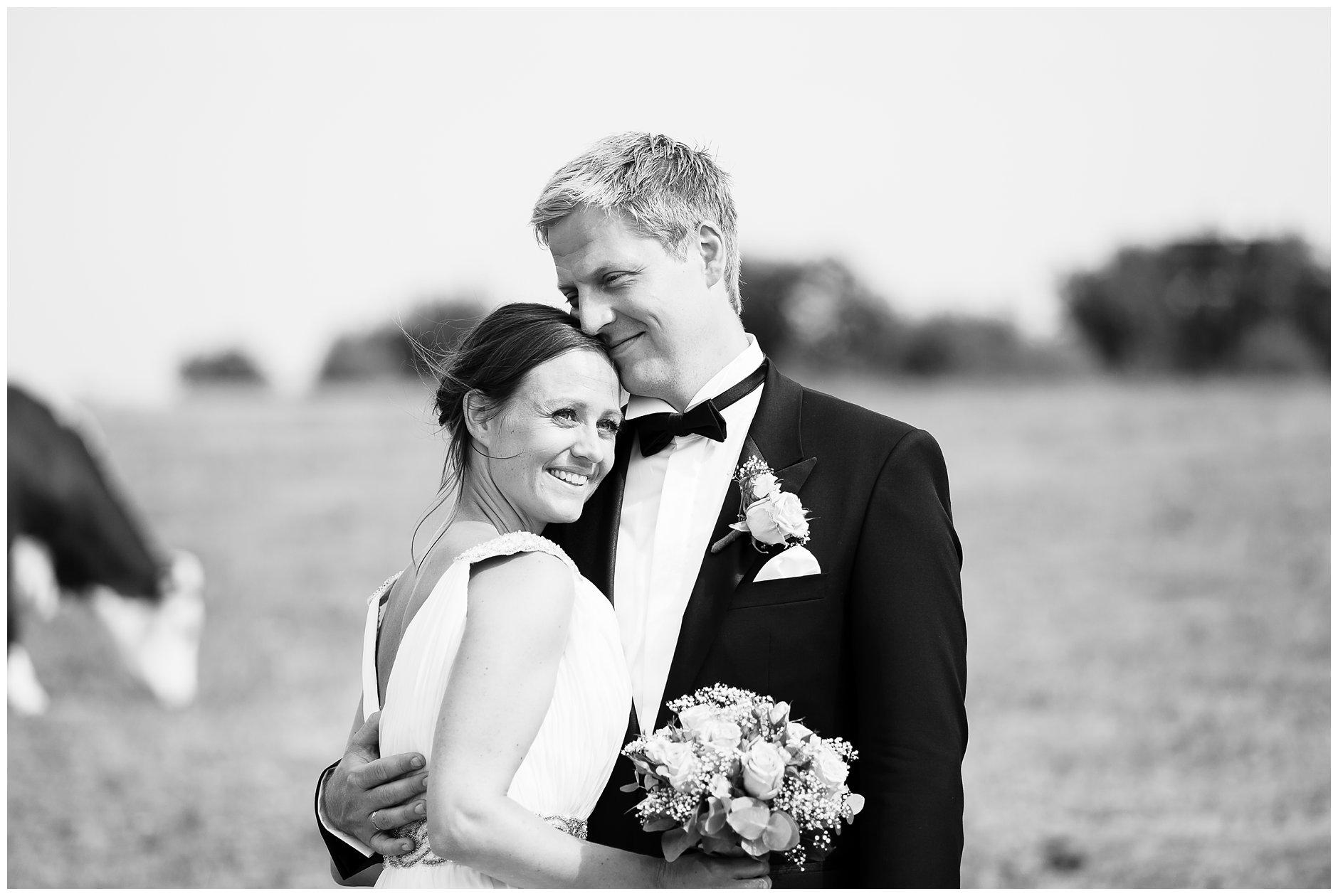 Bryllupsfotografering Jomfruland utendørs vielse