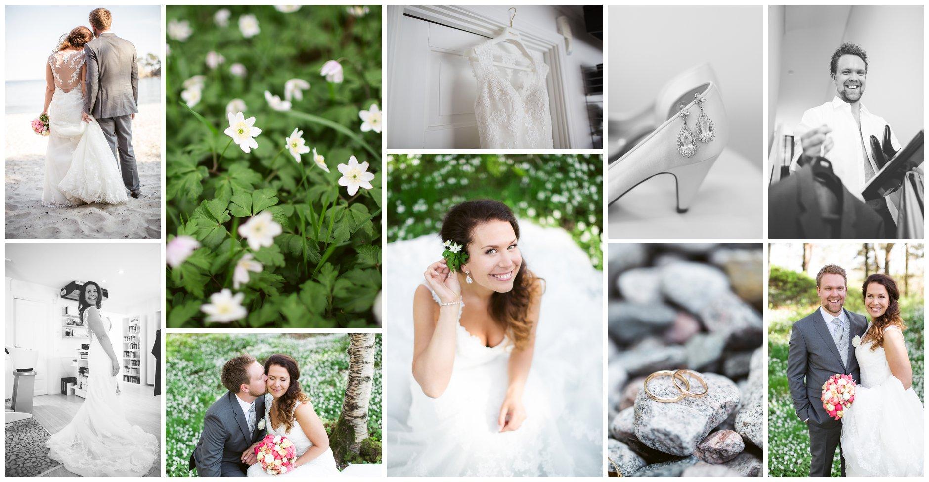 Bryllup vår hvitveis detaljer