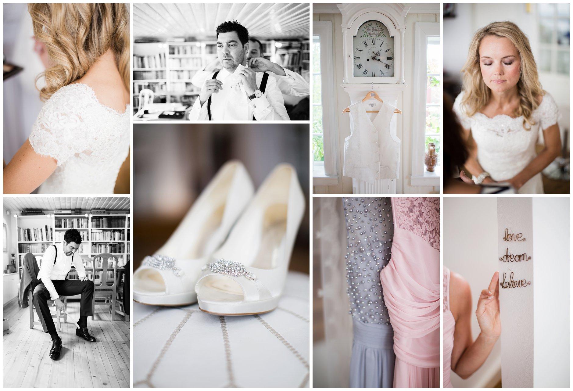 Bryllupsforberedelser Villa Malla