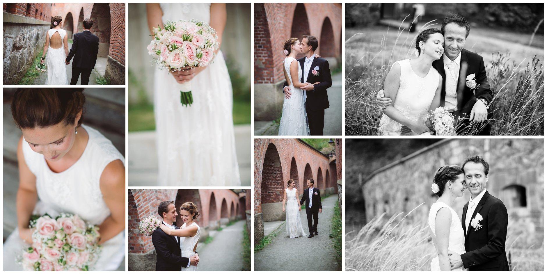 Bryllup på Oscarsborg i Drøbak