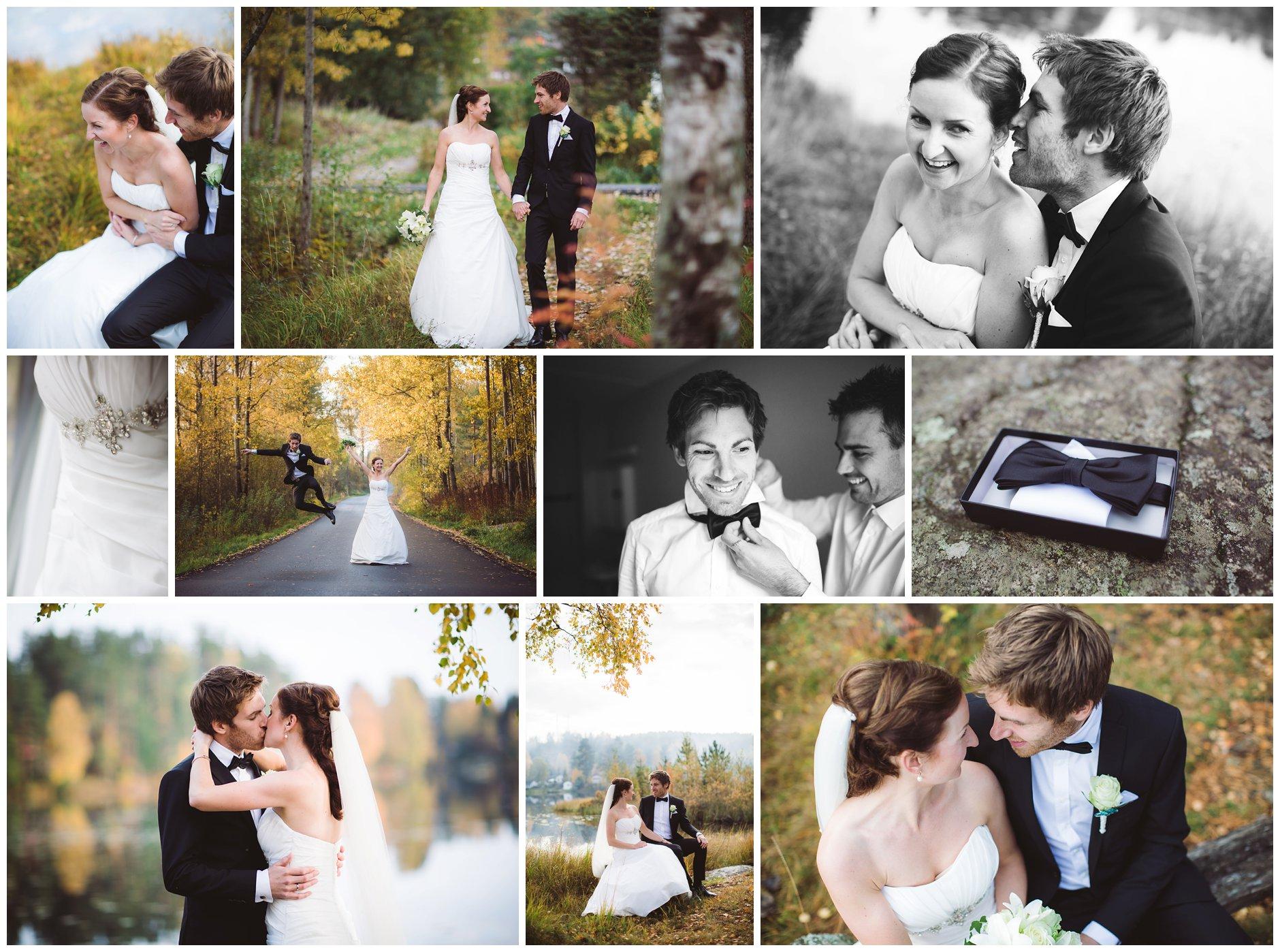 Bryllup og høsten i Østmarka