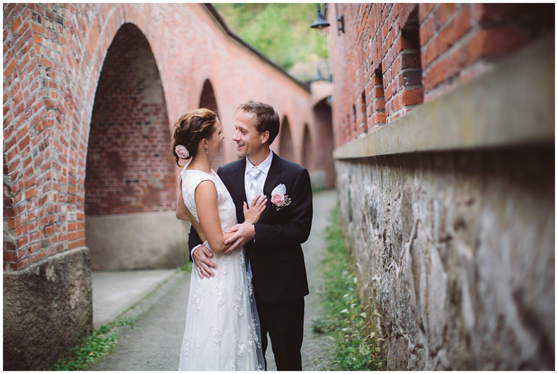Bryllup Drøbak kirke Reenskaug og Oscarsborg heldagsfotografering