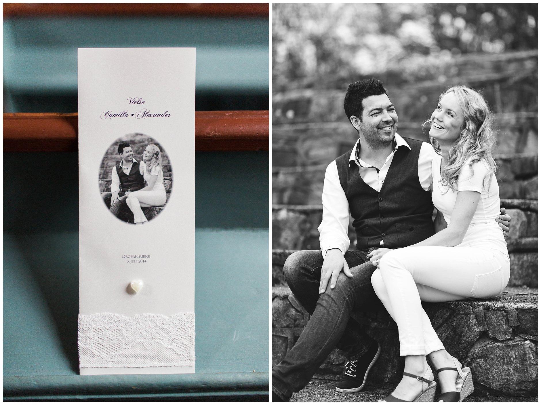 Tips til bruk av kjærestebilder i bryllupet