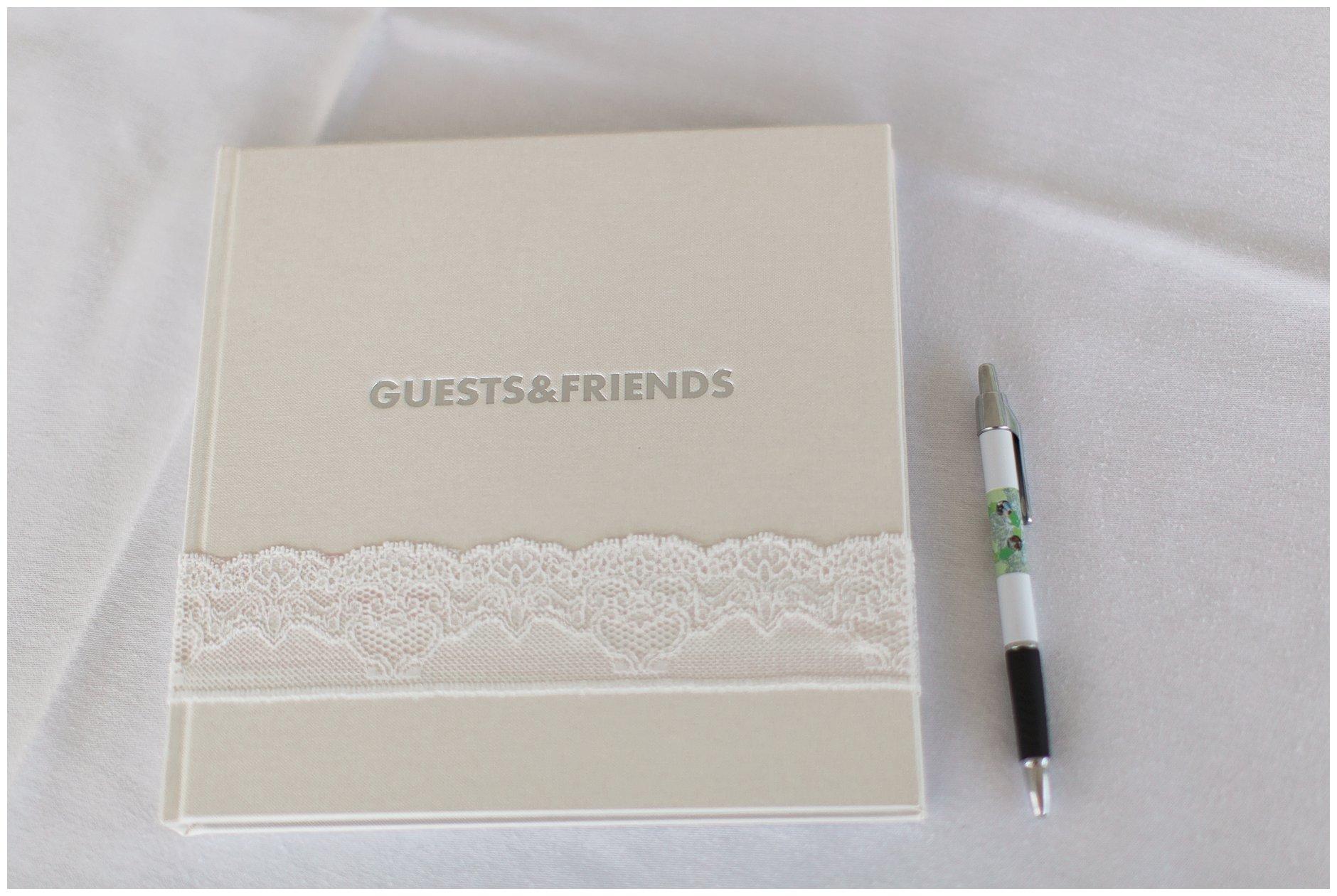 Tips til bruk av kjærestebilder i bryllupet - gjestebok