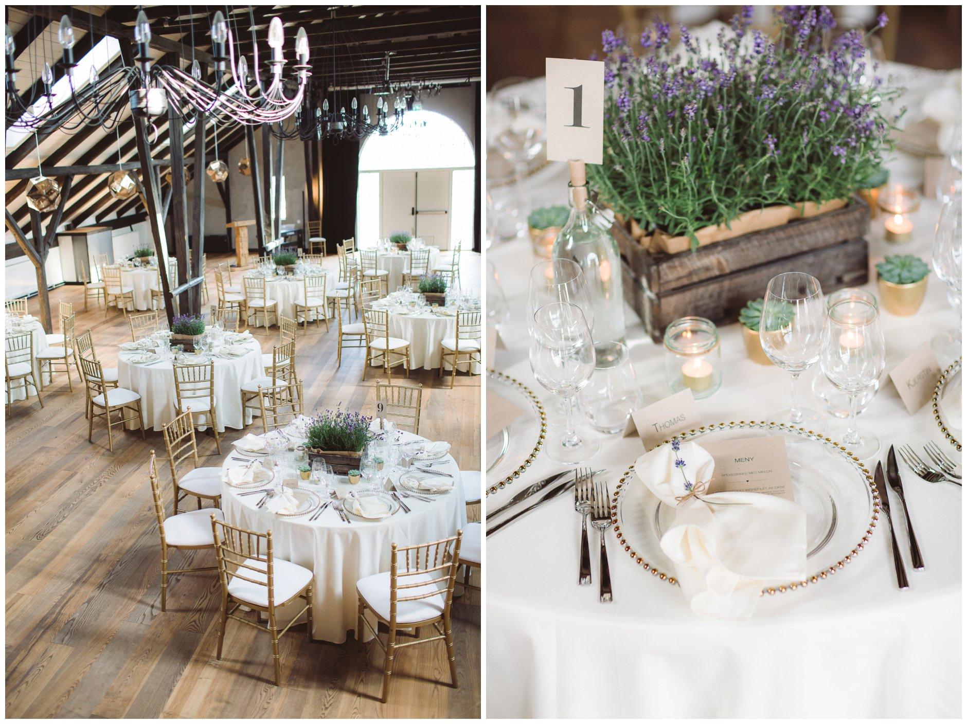 Fotograf-Eline-Jacobine-Bryllup-Glenne-Gård-med-Glennewedding-lavendel-sukkulent-bord-dekorasjon