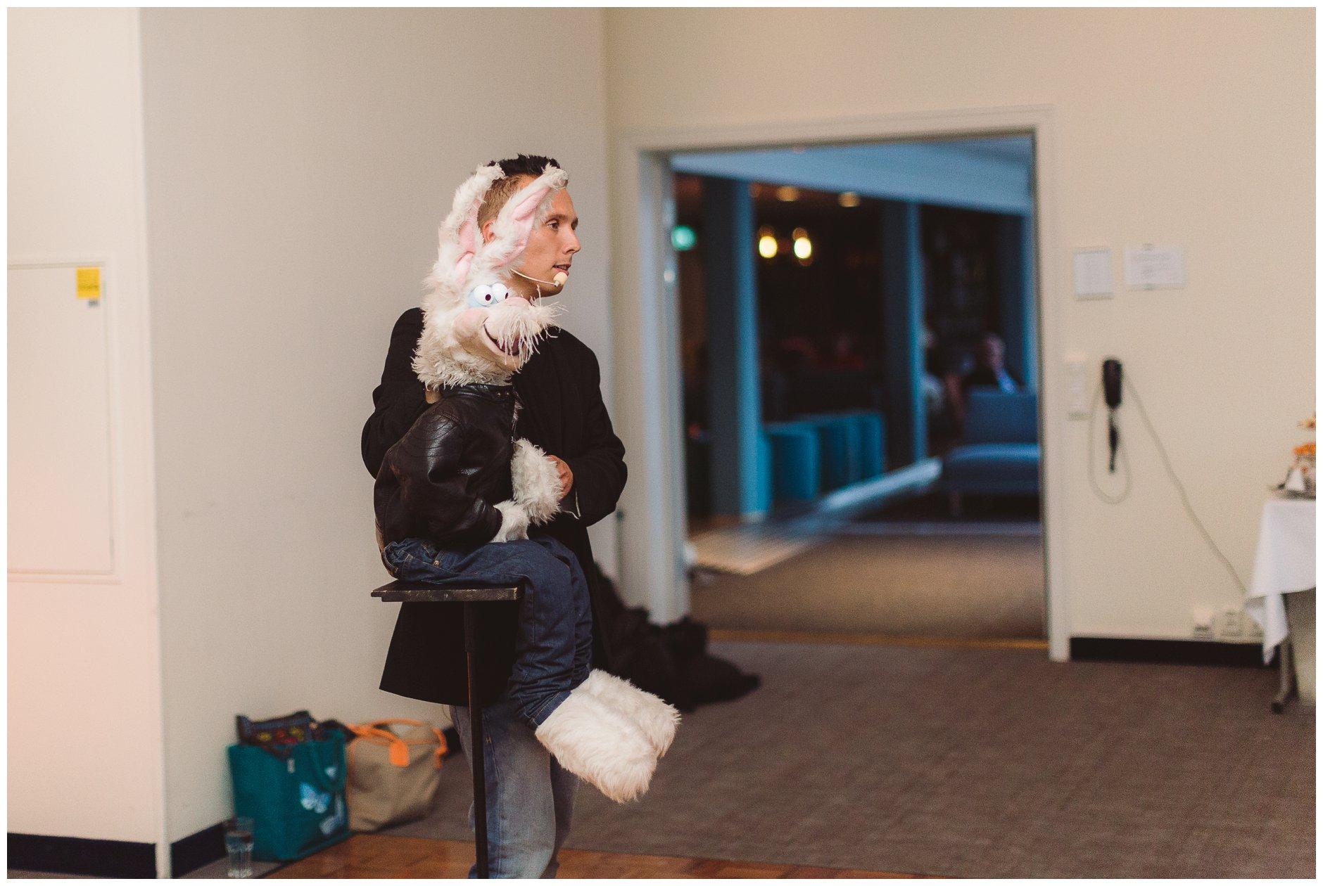 Kalle kanin på Scandic hotell Tjøme
