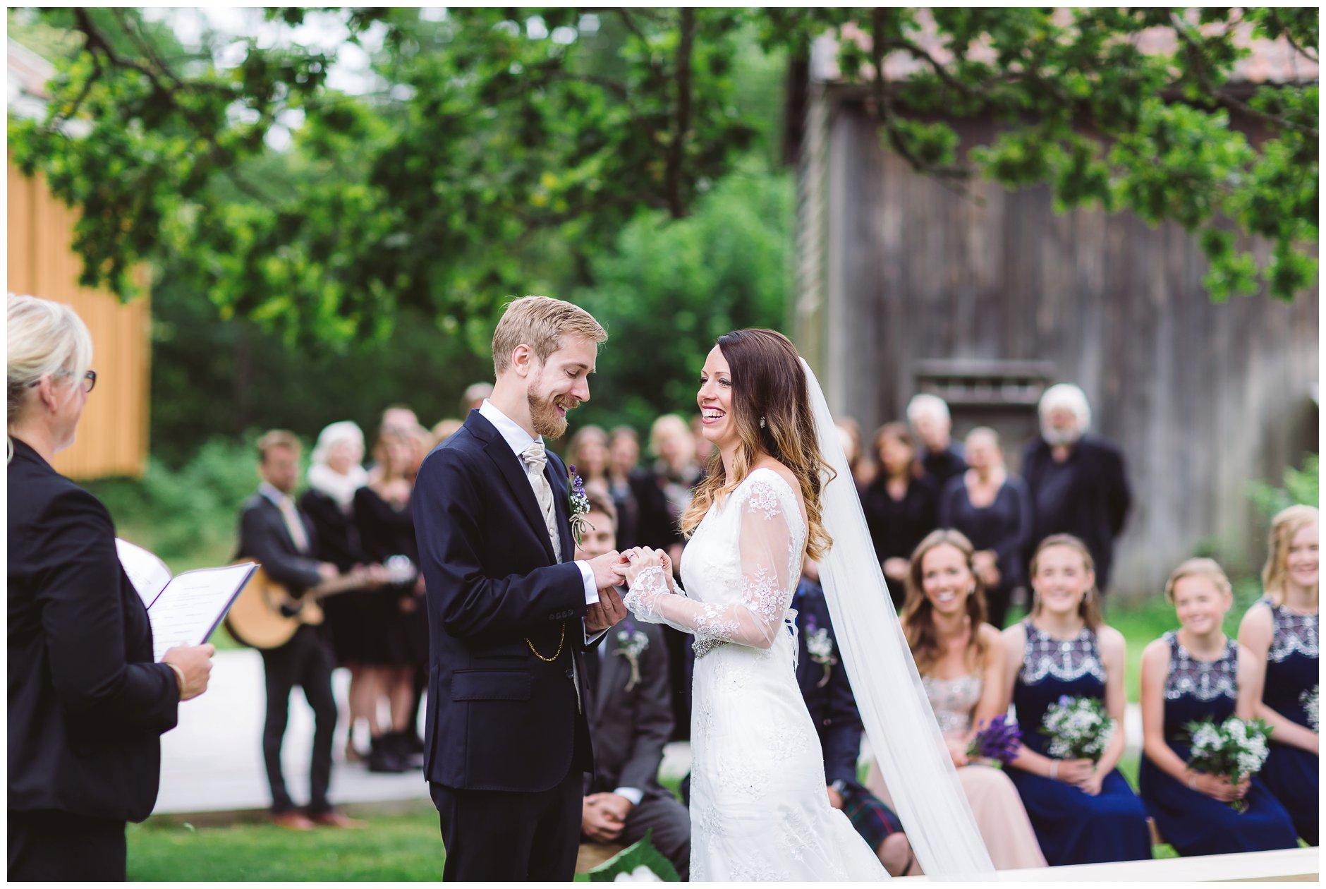Glennewedding bryllup på Glenne Gård