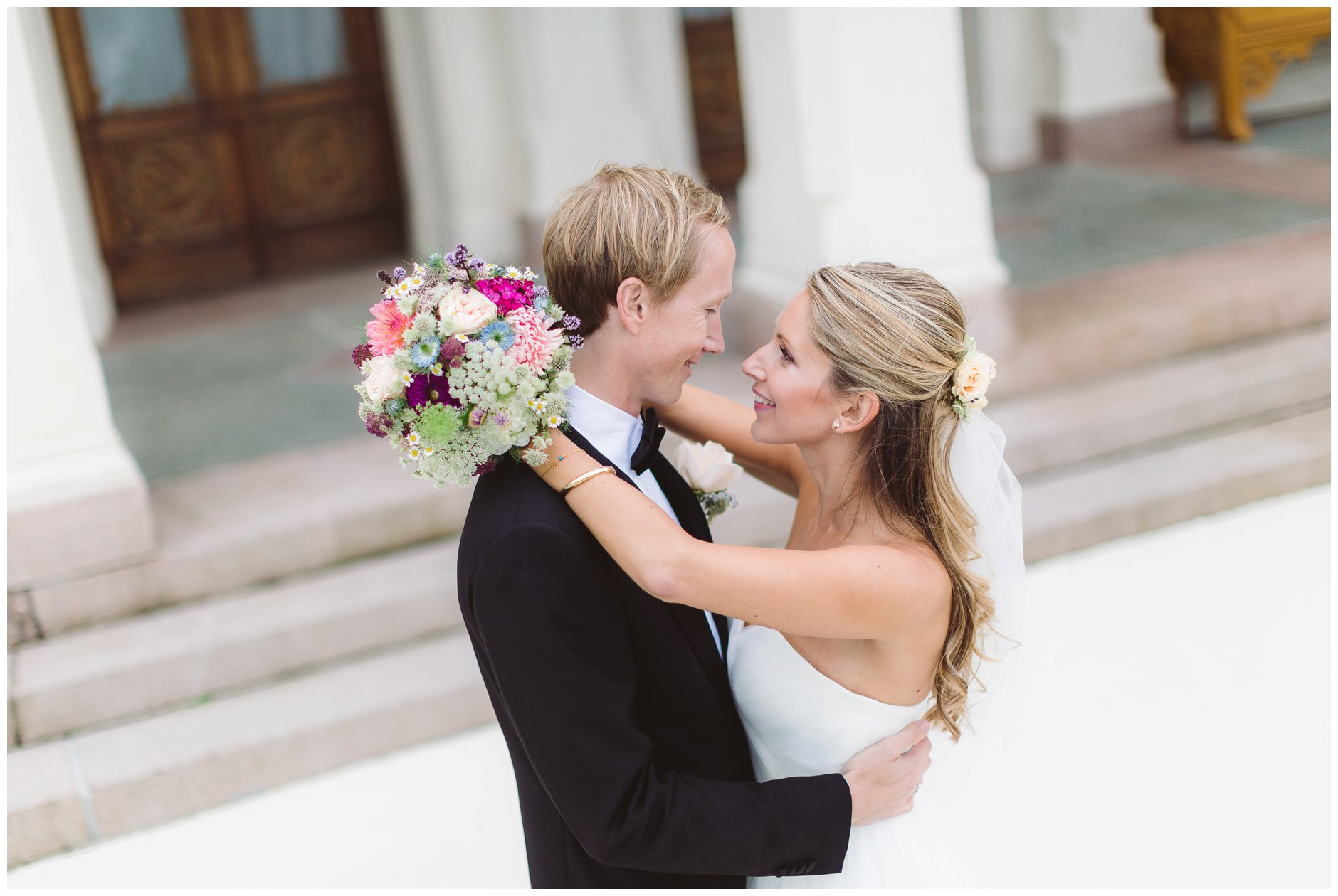 Bryllup Oscarshall Bygdøy og Villa Eckbo