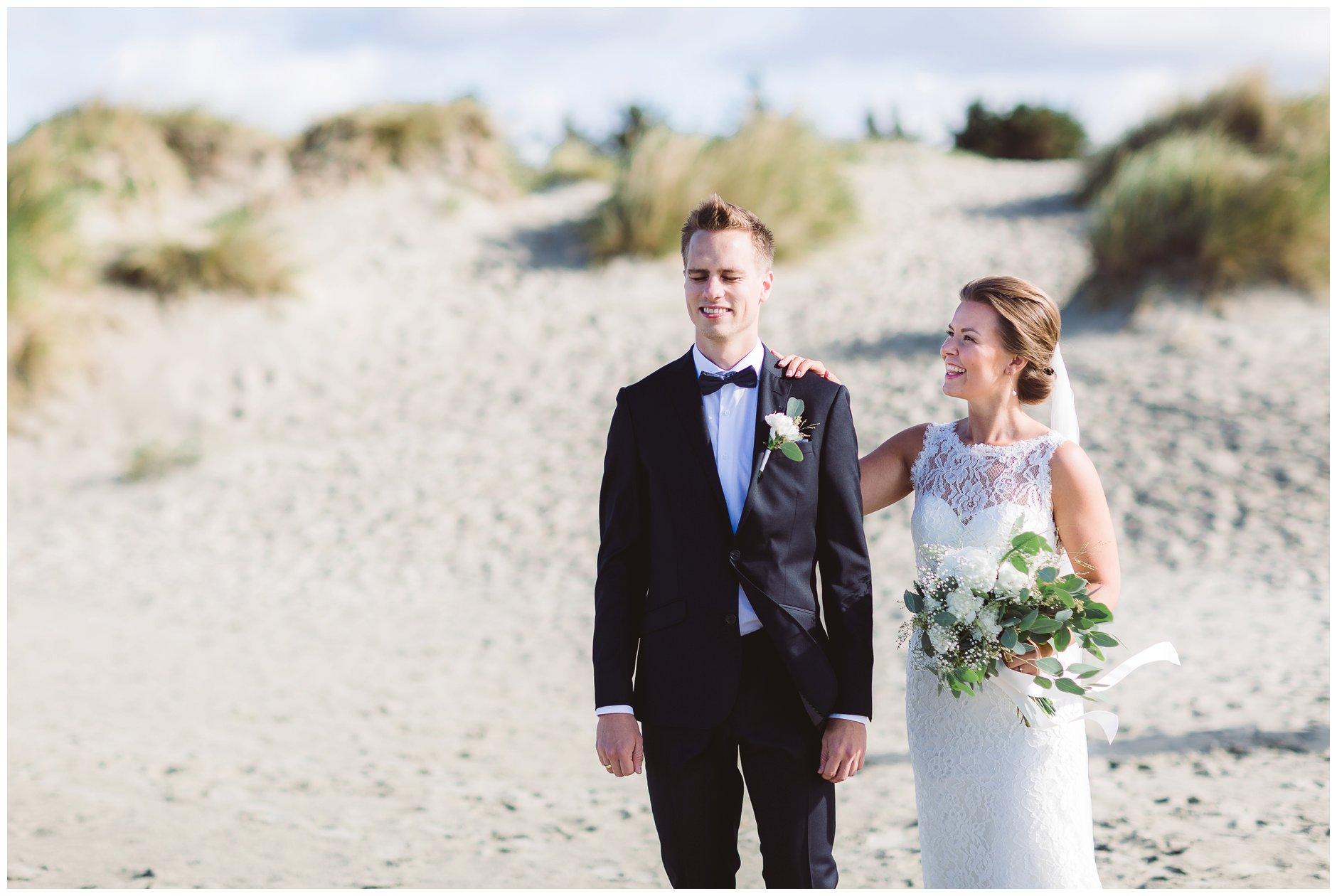 Bryllup First look Jæren Sola stranded