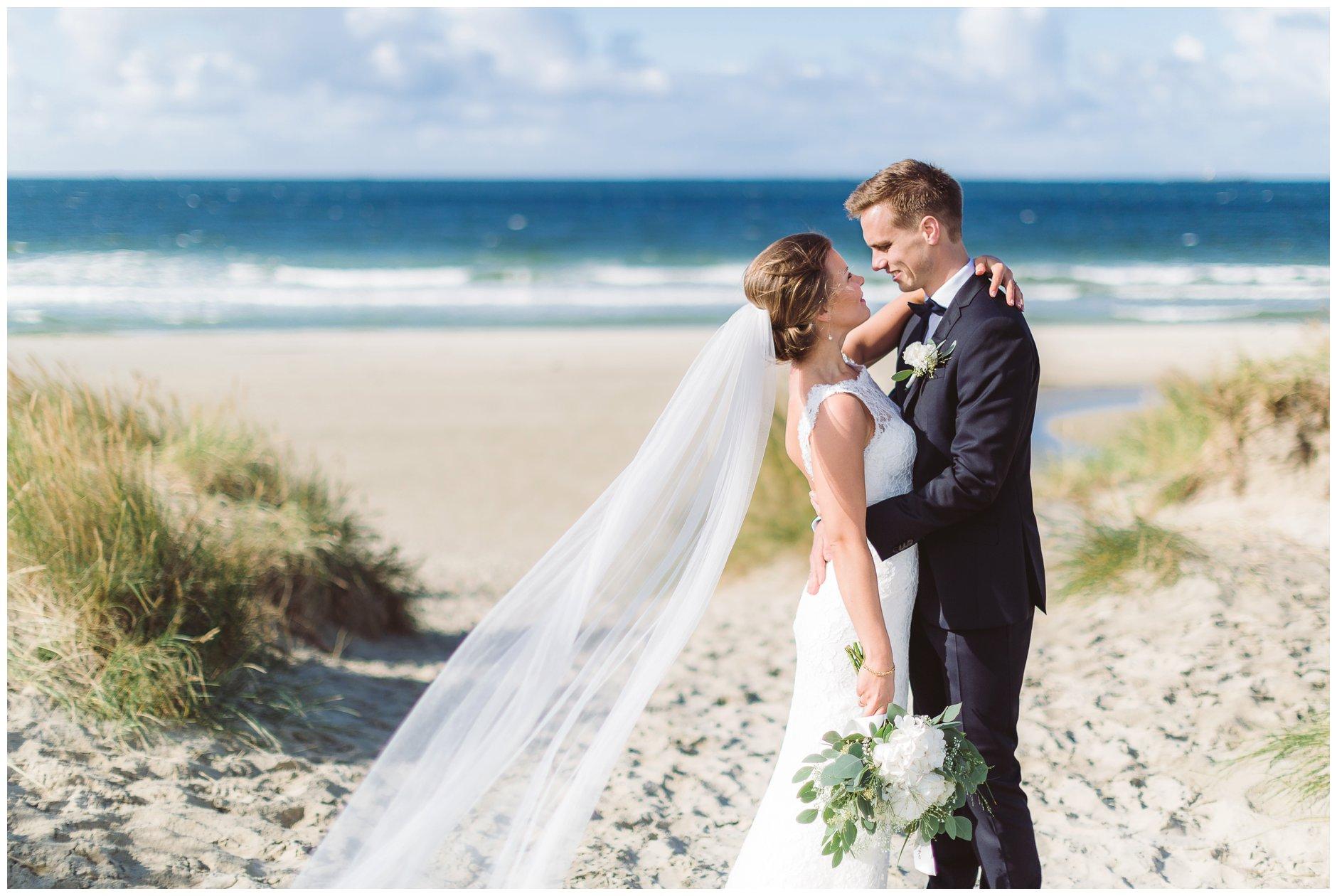 Bryllup på Jæren Sola stranden