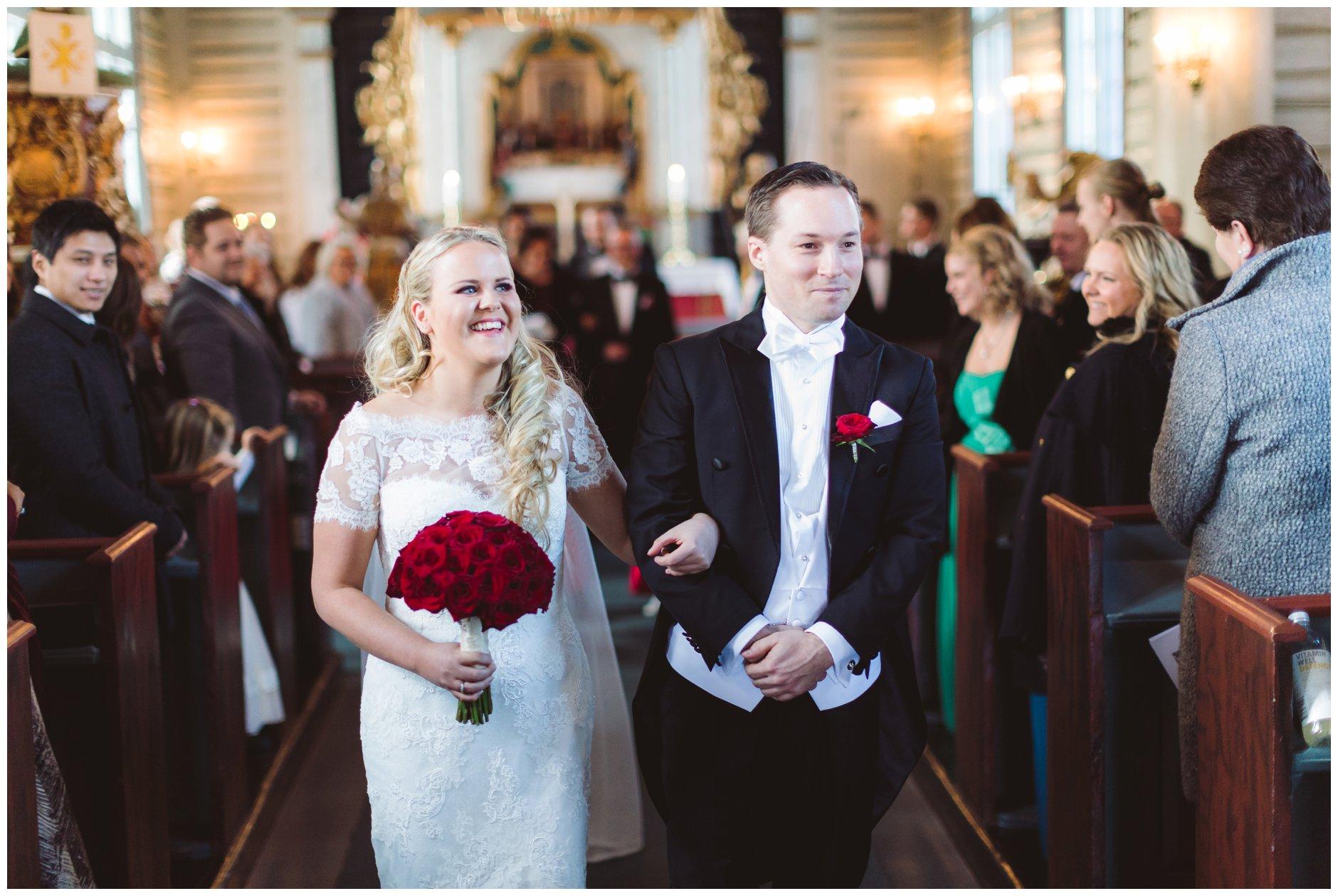 Nygift i Drøbak kirke