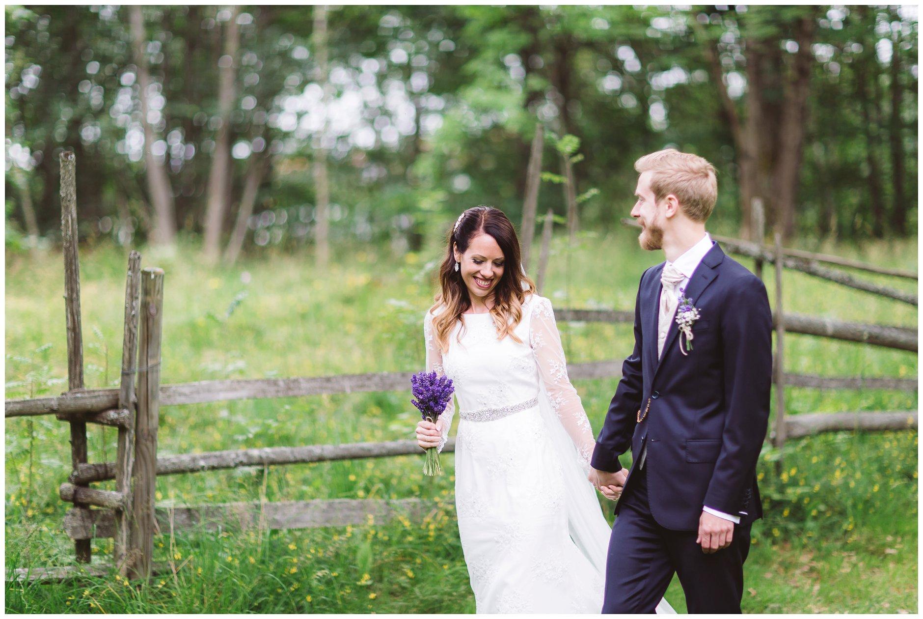 Bryllupsfotografering på Follo Museum