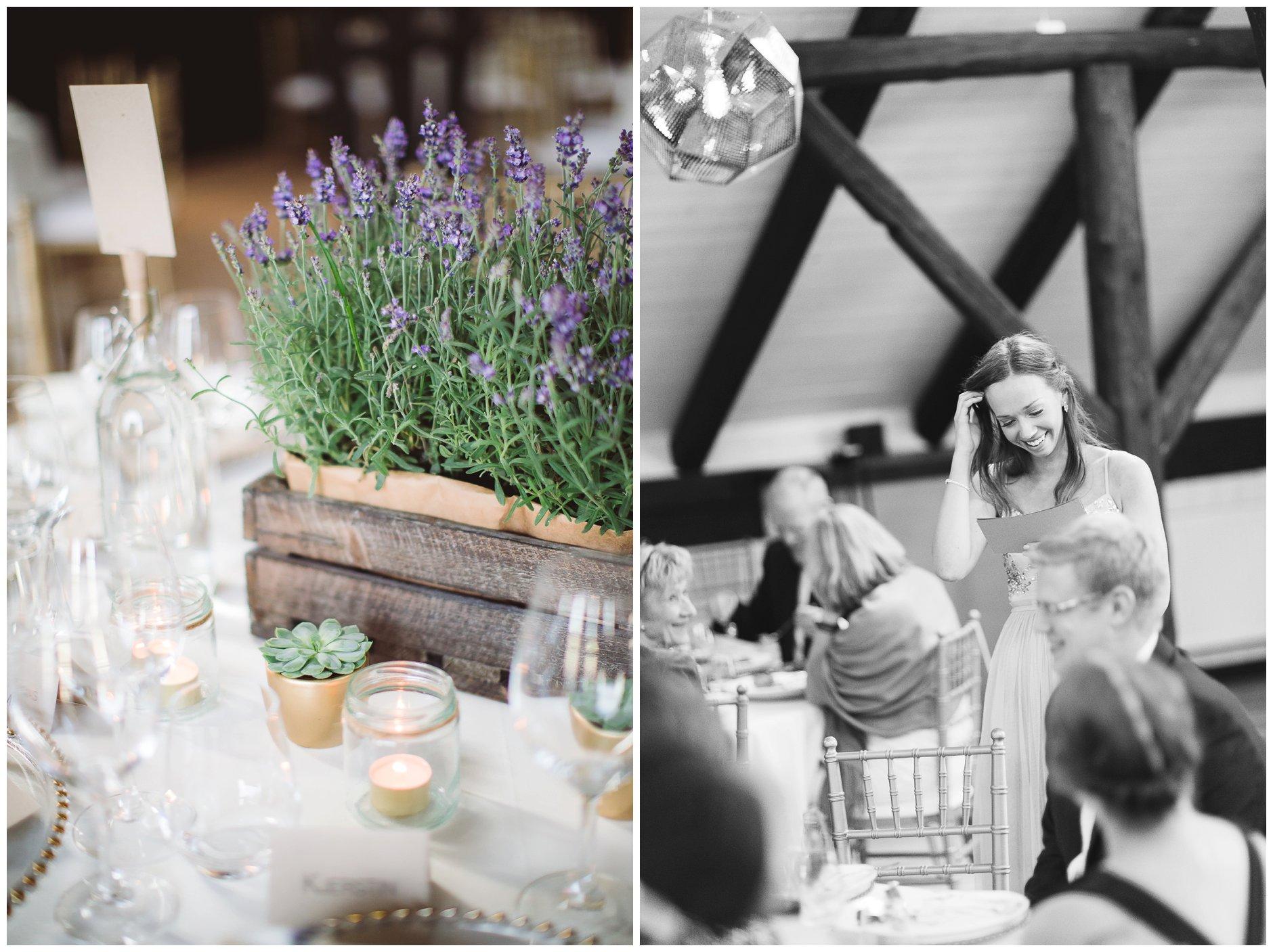 Bryllup på Glenne gård med lavender